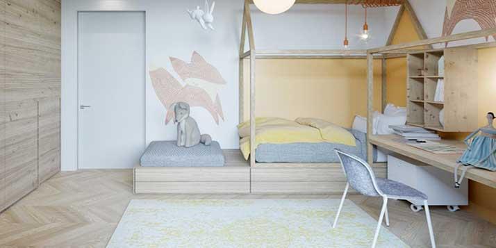 Phòng ngủ nhỏ hẹp thì nên thiết kế và trang trí thế nào?