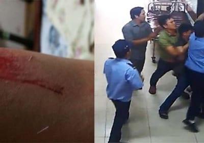 Cư dân KĐT Nam Trung Yên tố bị bảo vệ chung cư hành hung