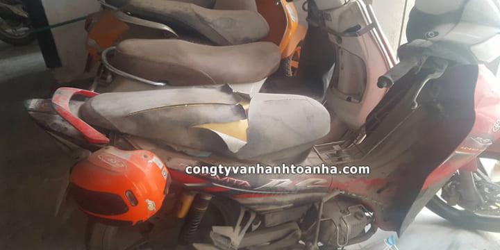 Hàng loạt xe máy bị rạch yên, bảo vệ phải chịu trách nhiệm thế nào?